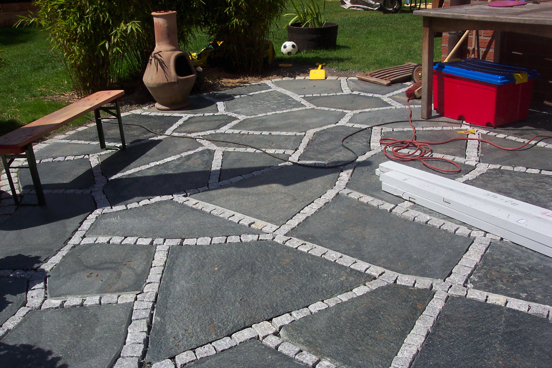 How To Lay A Flagstone Patio ...