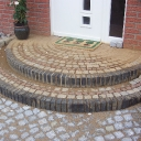Cobble Stone and Brick Landing