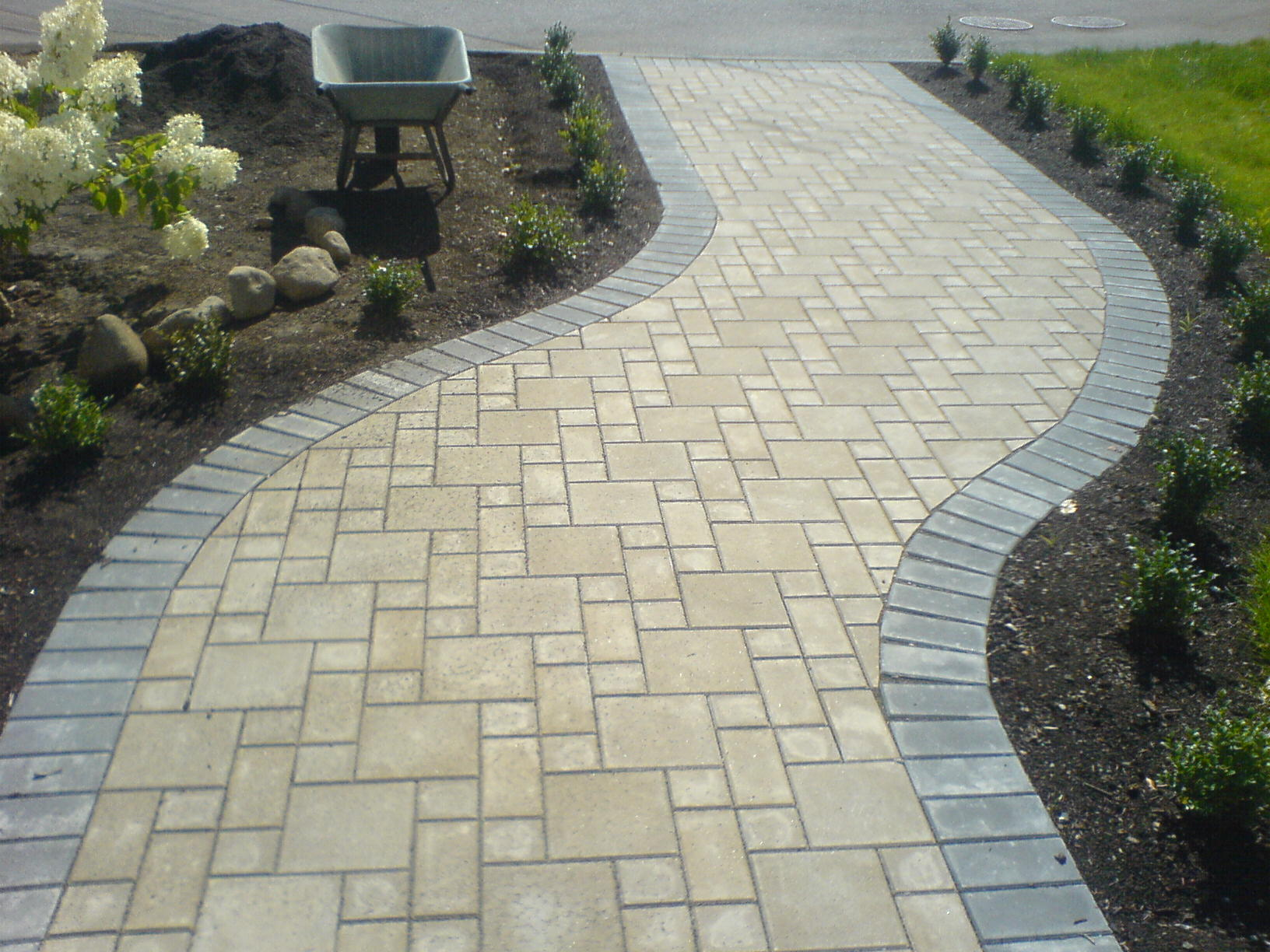 Paving Stone Patio Installation Nicholson Landscaping Coquitlam Surrey