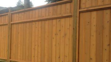 Cedar Panel & Custom Fence Installation