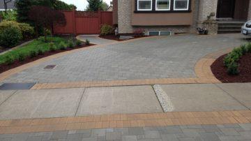 Paving Stone Driveway Installation