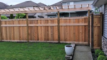 Cedar Panel and Custom Fencing