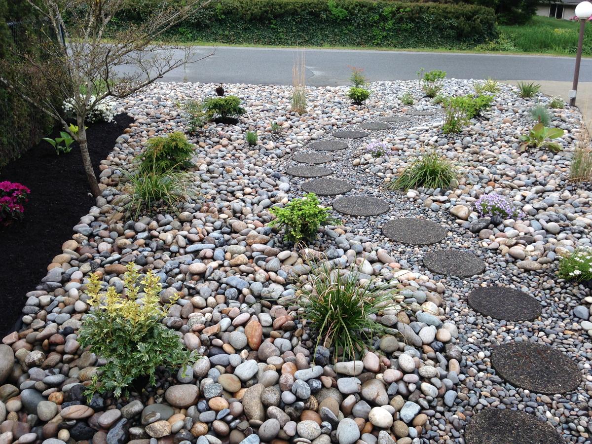 Grass To Garden Nicholson Landscaping Nicholson